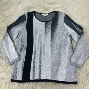 Helmut Lang Colorblock Pullover Sweater
